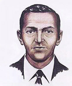 1972 F.B.I. composite drawing of D. B. Cooper