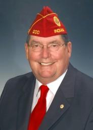 American Legion Commander Koutz
