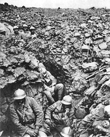 Battle of Verdun 1916 French Regiment