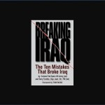 Breaking Iraq the book is depicted