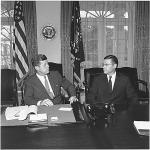 President Kennedy, Secretary McNamara 1962