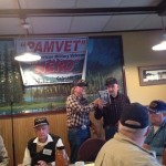 Veterans gathering for breakfast under PAMVET banner