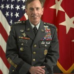 General David Petraeus prior to transition
