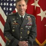 General David Petraeus prior to transition