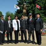 Commemorating the Korean War in July of 2014